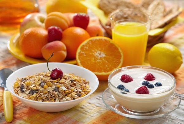 colazione sana e dietetica